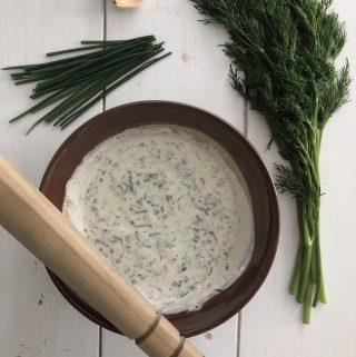 herbed skyr sauce sauce