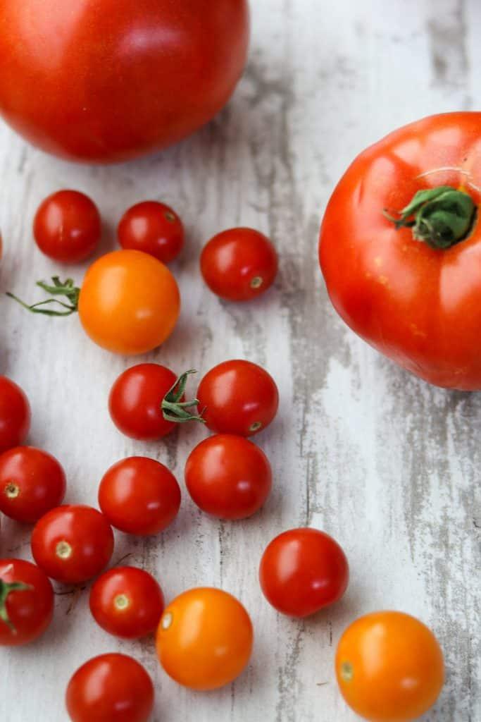 Easy Garden Tomato Smørrebrød