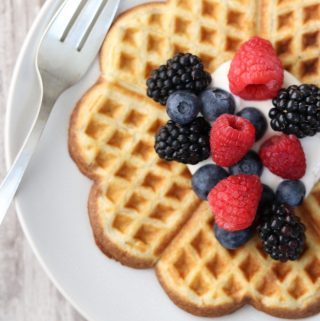 Nordic Buttermilk Waffles