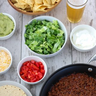 Easiest and Best Ground Beef Tacos
