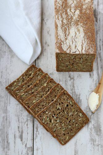Danish Rye Bread (Rugbrød)