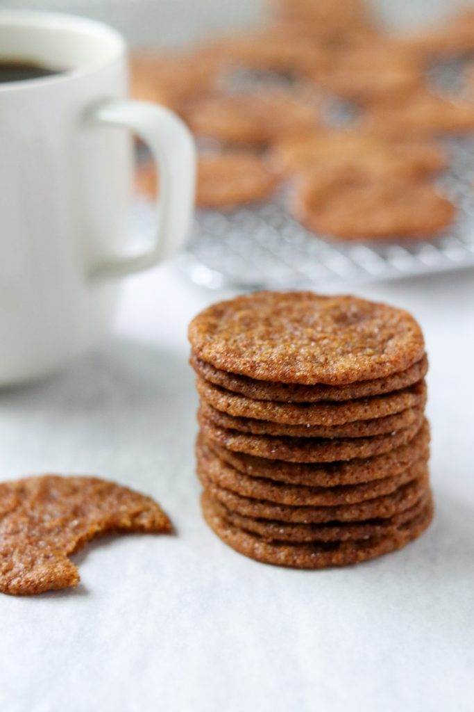 Swedish Ginger Snaps (Pepparkakor)