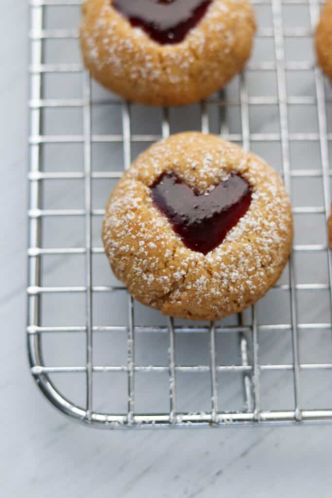 Raspberry Hazelnut Hearts