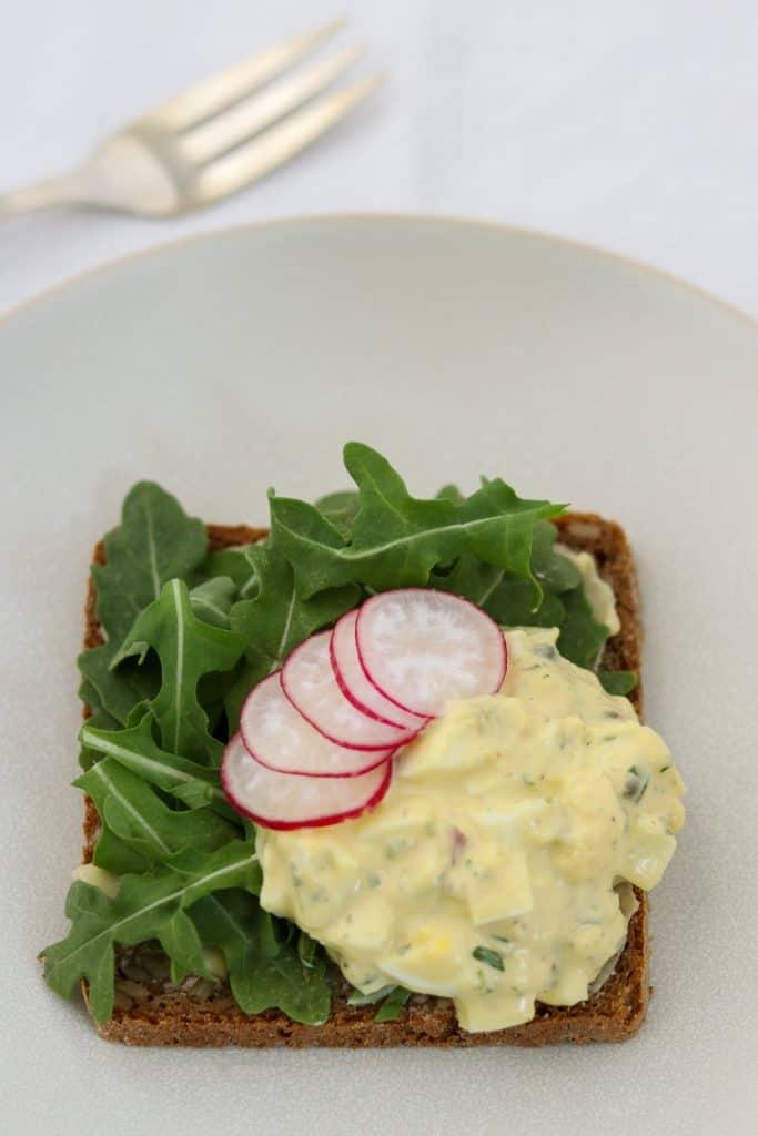 Egg Salad Smørrebrød