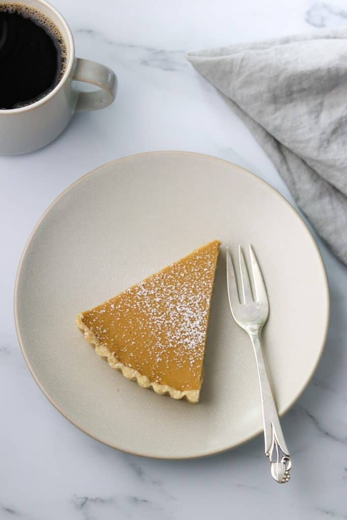 Brown Sugar Skyr Tart